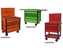 """EXTREME TOOLS® EX SERIES 33"""" & 41"""" SLIDING AND FLIP TOP TOOL CARTS"""
